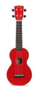 Mahalo Rainbow Series Soprano Ukulele - Red (MR1RD)
