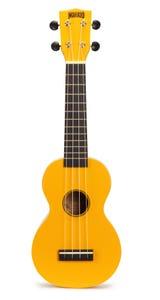 Mahalo Rainbow Series Soprano Ukulele - Yellow (MR1YW)