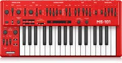 Behringer MS-101-RD Analog Synthesizer w/Live Performance Kit