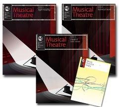 musical theatre grade 4 series 1 ladies student pack / ameb