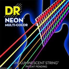 DR Strings 'Neon' Multi-Colour Acoustic Strings - 12-54 (2-Pack)