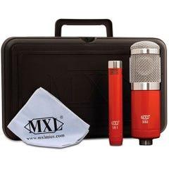 MXL 550 / 551R Condenser Microphone Ensemble