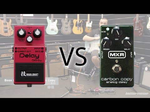 MXR Carbon Copy Analog Delay Pedal