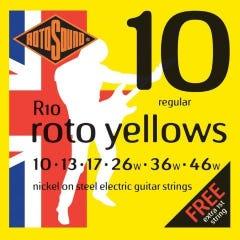 Rotosound R10 Rotos Electric Guitar Strings - 10-46