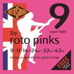 Rotosound R9 Rotos Electric Guitar Strings - 9-42