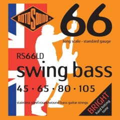 Rotosound RS66LD Swing Bass 66 Strings - 45-105