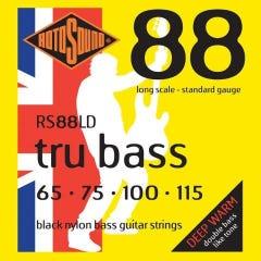 Rotosound RS88LD Tru Bass 88 Bass Strings - 65-115 (Black Nylon)