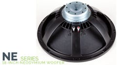 "Carvin NE18-4 18"" Neo Speaker - 4ohm (Limited Stock)"