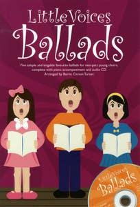 little voices ballads BK/CD /  (NOVELLO)