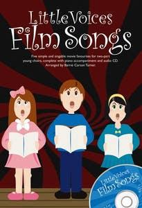 little voices film songs 2 part/piano BOOK/CD /  (NOVELLO)