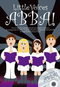 little voices abba 2 part/piano BOOK/CD / ABBA (NOVELLO)