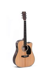 Sigma DMC-1E 1-Series Dreadnought Acoustic Electric Guitar