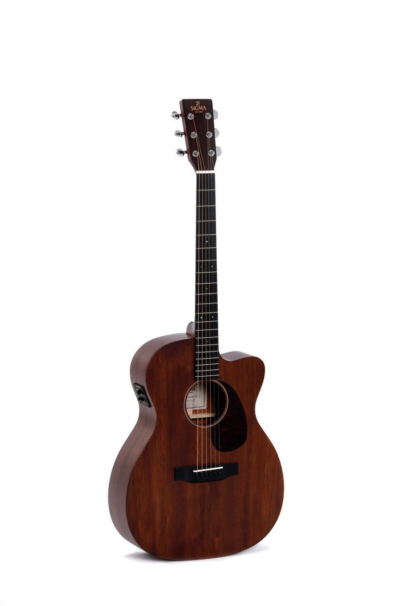 Sigma 000MC-15E Acoustic Electric Guitar - Mahogany