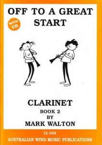 off to a great start BK 2 clarinet / WALTON MARK (AWMP)