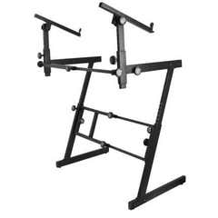 On Stage 2 Tier Z style Keyboard Stand