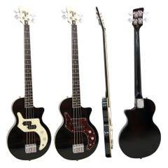 """Orange """"O Bass"""" 4-String Bass - Black"""