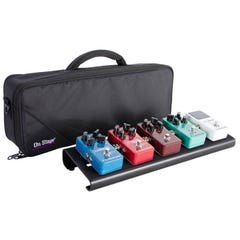 OnStage OSGPB2000 Small Pedal Board w/Bag (Pedals not included)