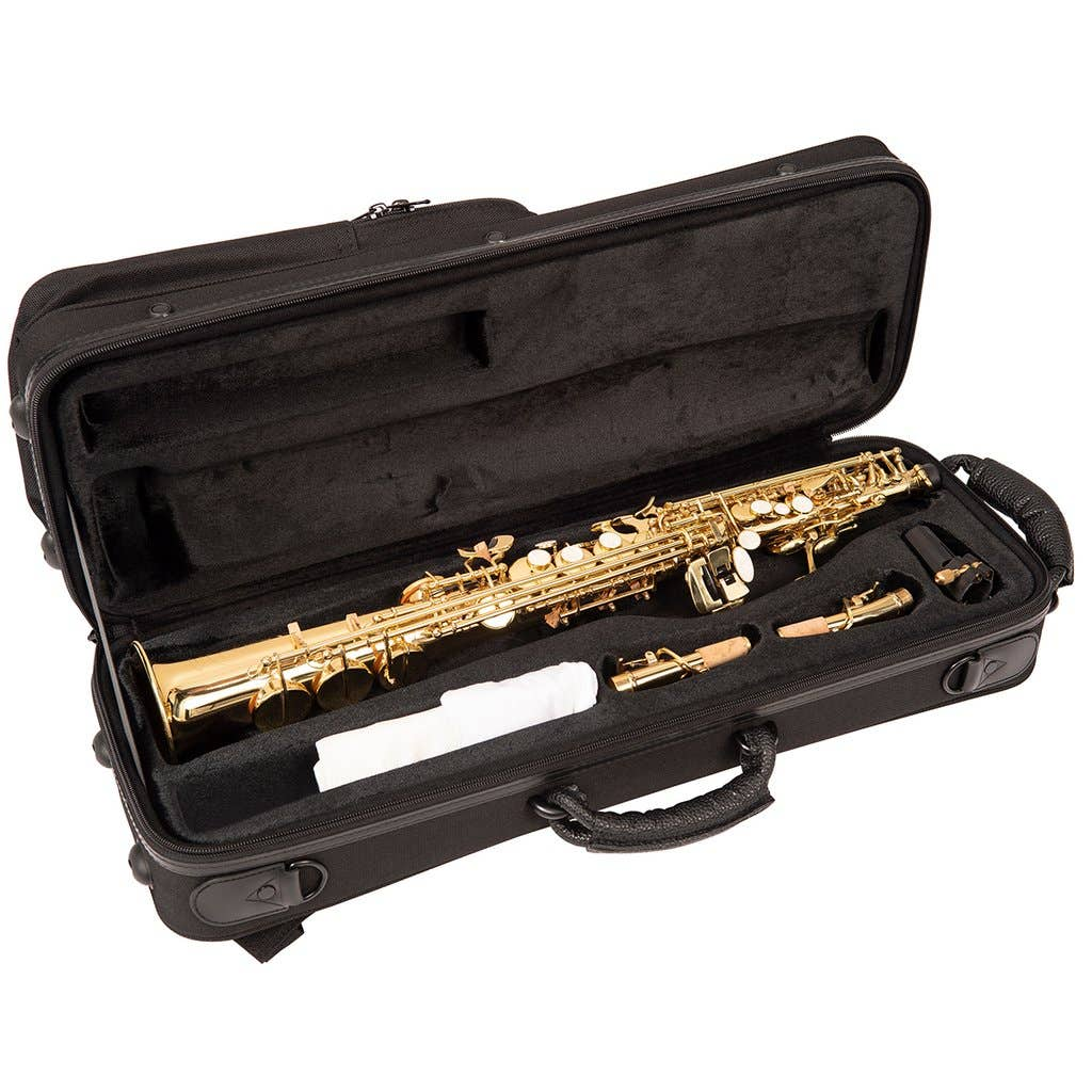Odyssey OSS600 Premiere Straight 'Bb' Soprano Saxophone Outfit
