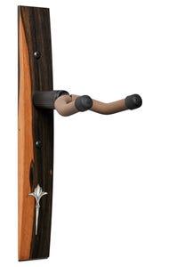 "Taylor Exotic Wood Guitar Hanger - Ebony - Acrylic ""Nouveau"" Inlay (70194)"