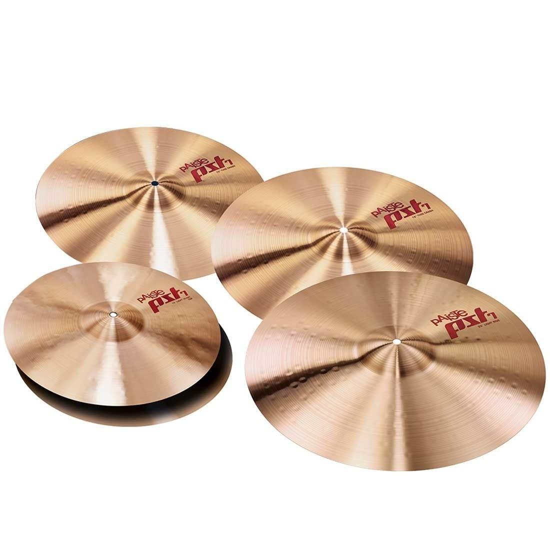 Paiste PST7 14/18/20 Session Cymbal Pack w/BONUS 16
