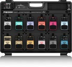 BEHRINGER PB1000 PEDAL BOARD WITH POWER