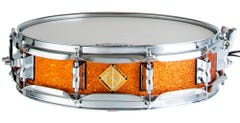 """Dixon Classic Series 14 x 3.5"""" Snare Drum - Orange Sparkle"""