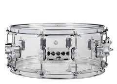 """PDP Chad Smith Signature 14x6"""" Snare Drum - Acrylic Shell"""