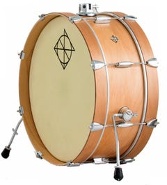 """Dixon """"Little Roomer"""" 20x7"""" Bass Drum - Natural"""