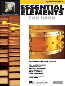 essential elements for band Book 1 Percussion (HAL LEONARD)
