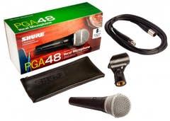 Shure PG48AXLR dynamic microphone (PG-48AXLR)