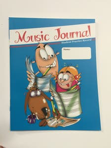 MUSIC PRACTICE JOURNAL (ACCENT)