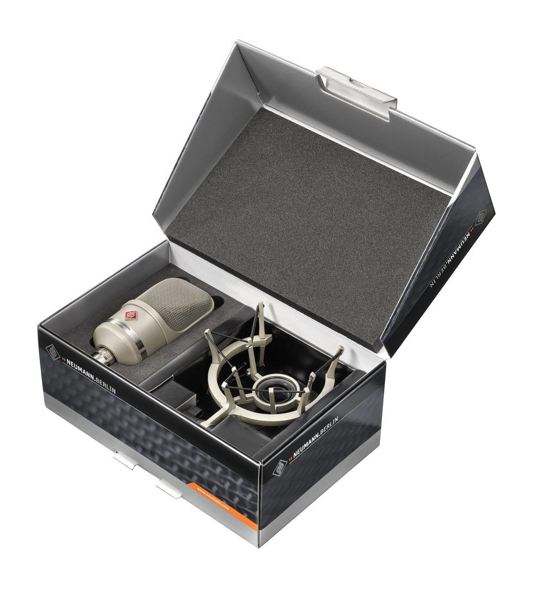 Neumann TLM107 Condenser Microphone Studio Set - Nickel