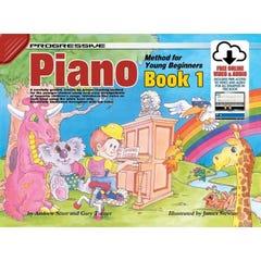 Progressive Piano for Young Beginners Book 1 BOOK/ON LINE AUDIO  (KOALA)
