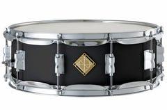 """Dixon Classic Series 14 x 5"""" Wood Snare Drum - Black"""