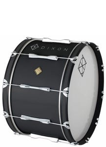 Dixon Marching 18 x 14 Bass Drum - Black
