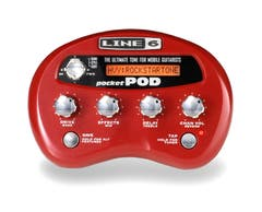 Line 6 Pocket Pod Mini Battery-Powered Effects Processor w/ USB