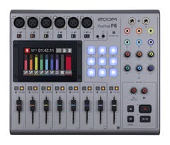 Zoom P8 Podtrak Podcast Studio Recorder