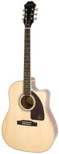Epiphone AJ-220SCE Acoustic Electric Guitar - Natural