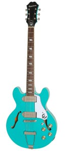 Epiphone Casino Coupe Hollowbody Electric Guitar - Turquoise