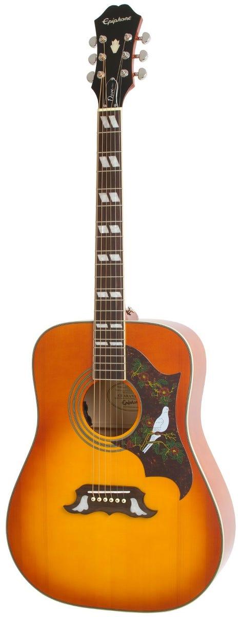 Epiphone Dove PRO Acoustic/Electric Guitar