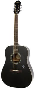 Epiphone DR-100 Acoustic Guitar - Ebony