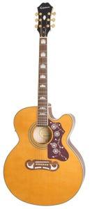 Epiphone EJ-200SCE Acoustic Electric Guitar - Vintage Natural