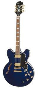 Epiphone Sheraton II PRO Semi-Hollow Electric Guitar - Midnight Sapphire