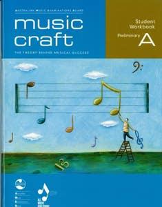 music craft student workbook prelim gr a BK/CD / AMEB (ALLANS)
