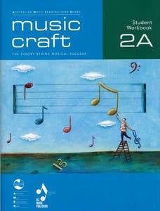 music craft student workbook gr 2 BK a BK/CD / AMEB (ALLANS)