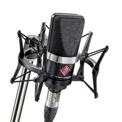 Neumann TLM102 Studio Set Condenser Mic w/Shock Mount - Black