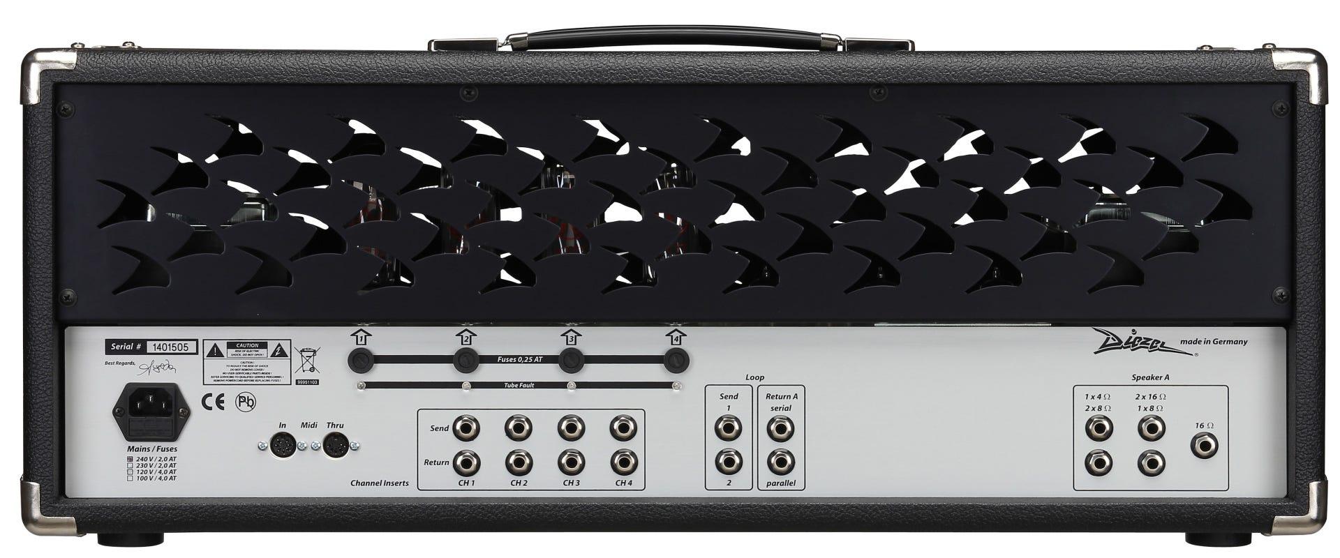 Diezel VH4 100w Guitar Amp Head