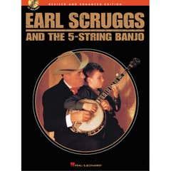 Earl Srcugg 5 - String Banjo Book and CD (Hal Leonard)