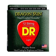 DR Strings 'Dragon Skin' Coated Acoustic 12-String Set - 10-48