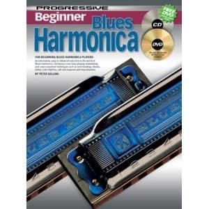 progressive beginner blues harmonica BK/CD 69162 /  (KOALA)